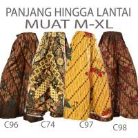 Bawahan batik Celana Kulot batik wanita C96C74C97C98