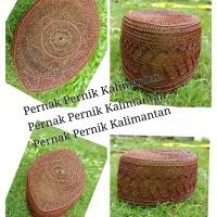 Peci Kopiah Akar Jangang Khas Kalimantan 03