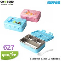 YooYee 627 Stainless Steel Lunch Box Anti Bocor Harga Ekonomis