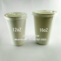 PM-PAPER CUP COLD CUP 12 OZ POLOS ISI 50 SET TERMURAH