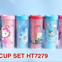 HT7279 Cup Set / set gelas karakter