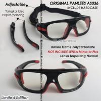 Google Original Panlees AS036 Panless AS-036 Kacamata Frame Minus Plus