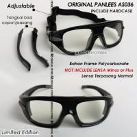 Google Original Panlees AS036 Kacamata Frame Minus Plus Panless AS-036