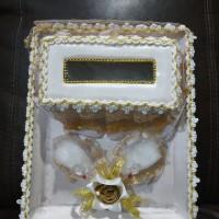 Tempat mahar pernikahan tempat cincin dan uang
