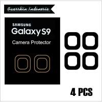 Original! Samsung S9 Skin Cover Black Mate Camera Protector 4 Pcs |
