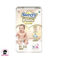 SWEETY Comfort Gold Pants Popok Celana M34 / M 34 (khusus Gosend/Gojek