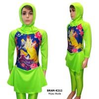Baju Renang Anak Muslim 5-10 Th Karakter Princess BRAM-K212SD