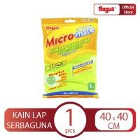 Bagus Micromate Kain Lap Serbaguna 1's Tipe 301 (40 X 40 Cm)