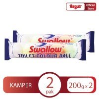 TWIN PACK - Swallow Toilet Colour Ball 5's
