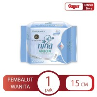 Bagus Nina Anion Pantyliner Natural Scent 15 cm 20's