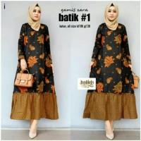 batik jumbo gamis zara 1