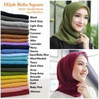 Bella Square Hijab Segi Empat - Daily Hijab - Jilbab Kerudung Nyaman