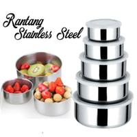 Zakka 5In1 Kotak Makan Bahan Stainless Steel