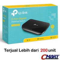 TP-LINK TL-SG1005D : TPLink 5 Port Gigabit Desktop Switch Hub