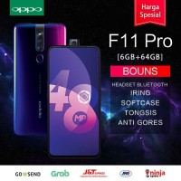 OPPO F11 pro ram 6gb 64gb Pop-Up Camera Garansi resmi indonesia