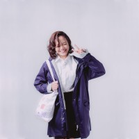 AME Raincoat - AUTHENTIC SERIES - NAVY
