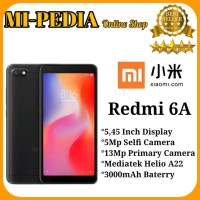 Xiaomi Redmi 6A Ram 2Gb Internal 16Gb Garansi Distributor 1Thn