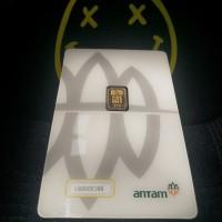 Emas ANTAM Logam Mulia 0.5 Gram REINVENTED CertiCard CertiEye