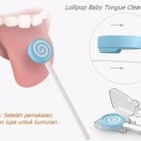 Lollipop Pembersih Lidah dan Mulut Bayi Baby Oral Tongue Cleaner