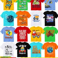 Kaos anak shine kids size 246810