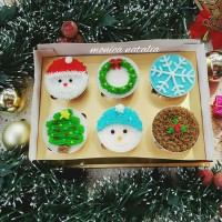 cup puding christmas