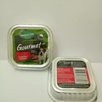 Wet Food Nature's Gift Gournet Prime Beef in Gravy 100gr