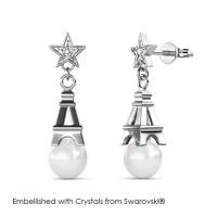 Twinkling Paris Earrings - Anting Crystal Swarovski® by Her Jewellery