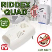 [ Hijau Quad ] Riddex Quad Green Repelling Pest - Pengusir Tikus Kec