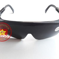 Kacamata Pengaman Las Hitam