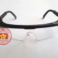 Kacamata Pengaman Bening