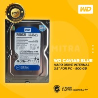 "WD Caviar Blue 500GB - HD / HDD / Hardisk Internal 3.5"" For PC"