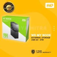 WD 4TB My Book External Hard Drive USB 3.0