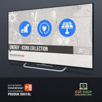Template PowerPoint ENERGY - ICONS COLLECTION | PresentationLoad