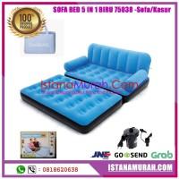IMH' SOFA BED 5 IN 1 BIRU 75038 -Sofa/Kasur Angin Bestway Multifungsi