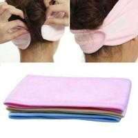 TERJAMIN bando kepala mandi 8 cm BESAR / bando mandi / facial EJDO