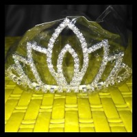 Paling Murah Mahkota Tiara Crown Permata Besi Anak Dan Dewasa FREE