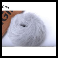 WMN Elastic Fake Fur Women Ponytail Plush Hair Rope Scrunchie TERBAIK