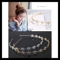 LRC Bando Fashion Color Star Shape Decorated Hairband LIMITED EDITION