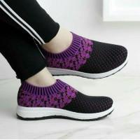 MURAH Sepatu Wanita Sneakers SL121-Motif Batik Produk Lokal