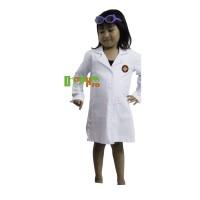 Harga jas dokter kecil uk 5 5 6 tahun tangan panjang baju dokter | antitipu.com