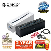 Orico a3h10 original (aluminium super speed 10 port usb3.0 hub)