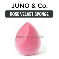 Juno & Co Microfiber Velvet Sponge - ROSE VELVET