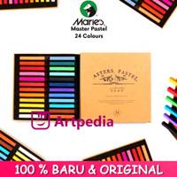 Maries Master Soft Pastel Coloring Set 24 Warna / Color Crayon Hair