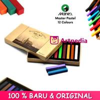 Maries Master Soft Pastel Coloring Set 12 Warna / Color Crayon Hair