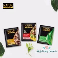 Natur Masker Rambut 15gr Hair Mask Extract Gingseng - Aloevera - Olive