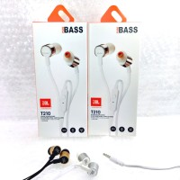 JBL Handsfree Earphone Headset JBL T210 Pure BASS