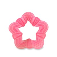 LustyBunny Mainan Gigitan Bayi Segi 5- Teether