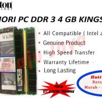 memori pc kingston DDR3 4GB pc12800
