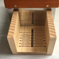 Cetakan Wood box with stainless cutter bit Soap Cutter Tool Set3
