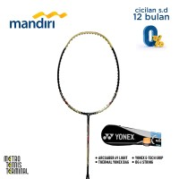 Yonex Arcsaber 69 Light Bundle (Paket Raket Badminton)